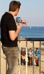 Drumming for Barcelona TV