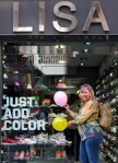 Lisa in Barcelona