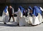 Nuns in Carcasonne, France