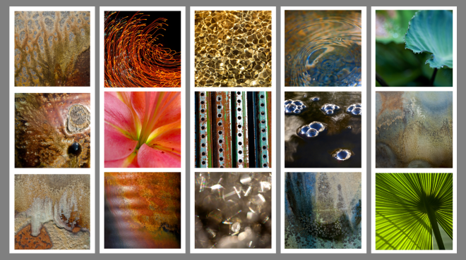 Feng Shui Photos - Earth, Fire, Metal, Water, Wood