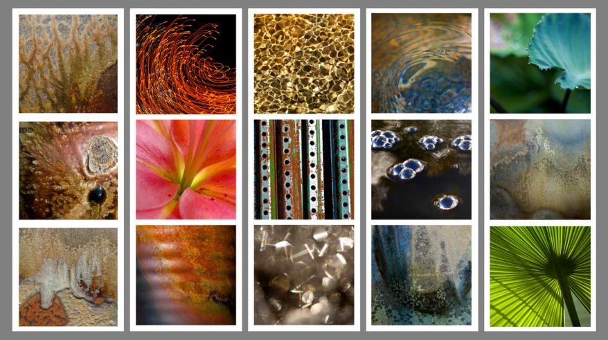 Feng Shui Photos - Earth, Fire, Metal, Water, Wood