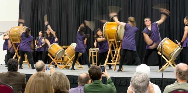 Taiko Drummers at Parliament of World Religions