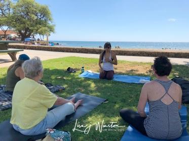 Yoga at the Beach with Mai