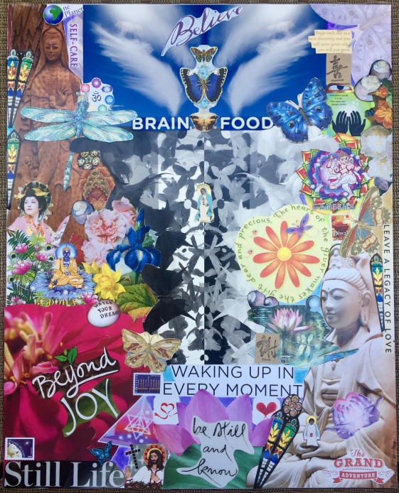 Healing Collage for Kora 2018