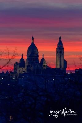 Sacre Couer Sunset_Paris