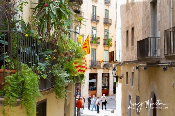 Street in Girona_Spain