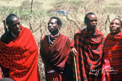 Maasi Men_Tanzania
